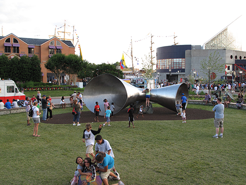 pierces park baltimore sculpture